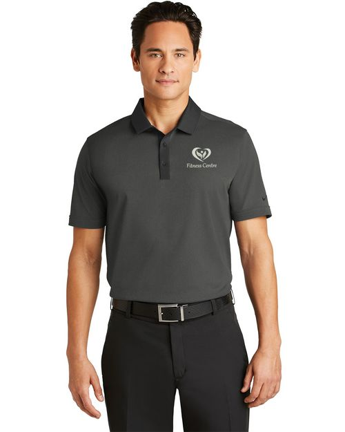 Nike Golf 779798 Dri-FIT Heather Pique Modern Fit Polo