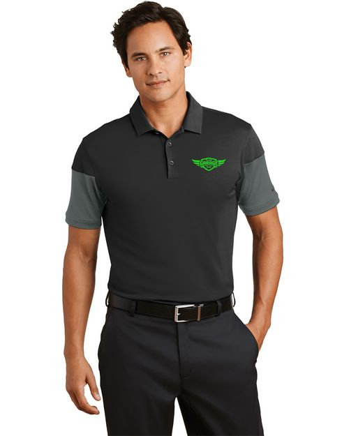 Nike Golf 779802 Dri-FIT Sleeve Colorblock Polo