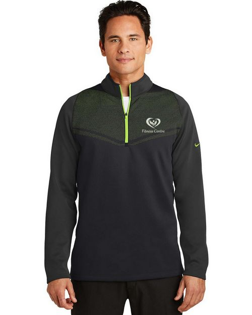 Custom Logo Embroidered Nike Golf Therma-FIT Cover-Up - For Men