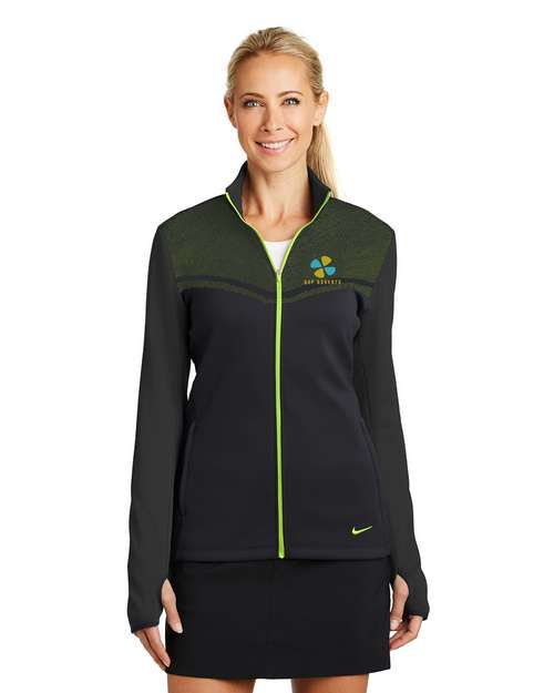 Logo Embroidered Nike Golf Full-Zip Logo Embroidered Jacket - For Women