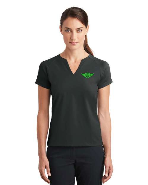 Nike Golf 838960 Dri-FIT V-Neck Top - For Women