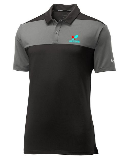 Logo Embroidered Nike Golf 942881 Limited Edition Nike Colorblock Polo