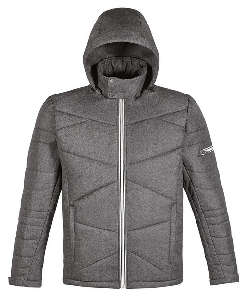 North End 88698 Avant Mens Tech Melange Insulated Jacket