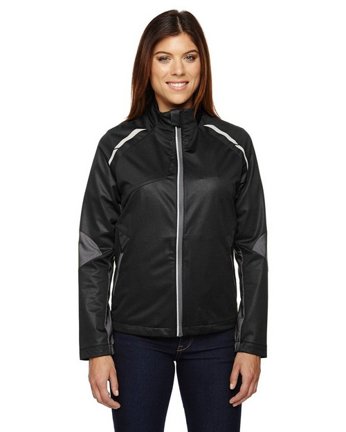 North End 78654 Ladies' Dynamo Three-Layer Lightweight Bonded Performance Hybrid Jacket