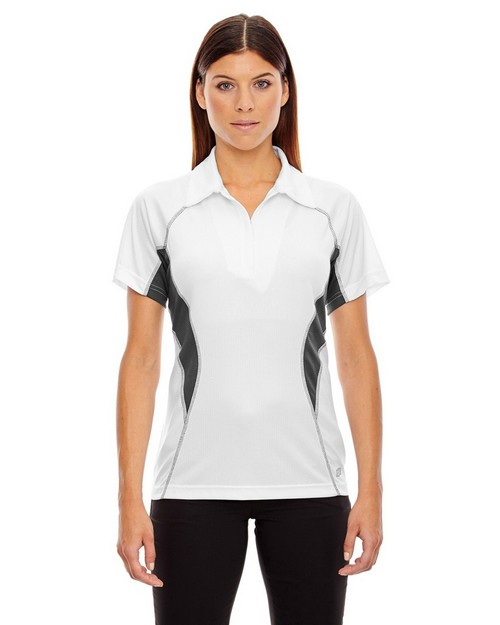 North End Sport Red 78657 Ladies' Serac Performance Polo