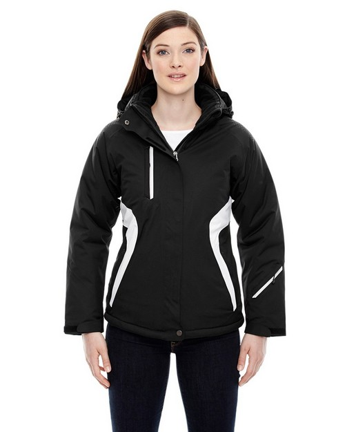 North End 78664 Ladies' Apex Seam-Sealed Insulated Jacket