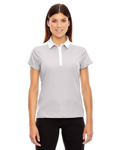 North End 78676 Ladies' Symmetry Coffee Performance Polo