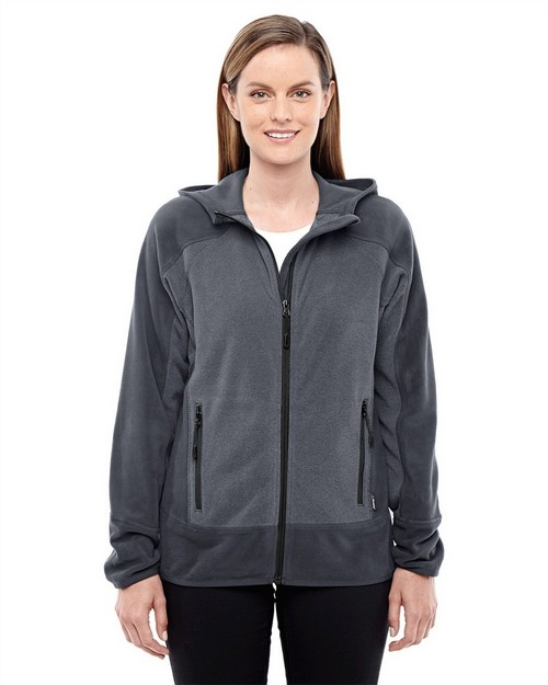 North End Sport Red 78810 Ladies' Vortex Polartec Active Fleece Jacket