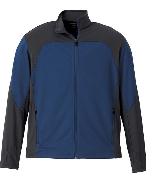 North End Sport Red 88603 Men's Active Performance Stretch Jacket