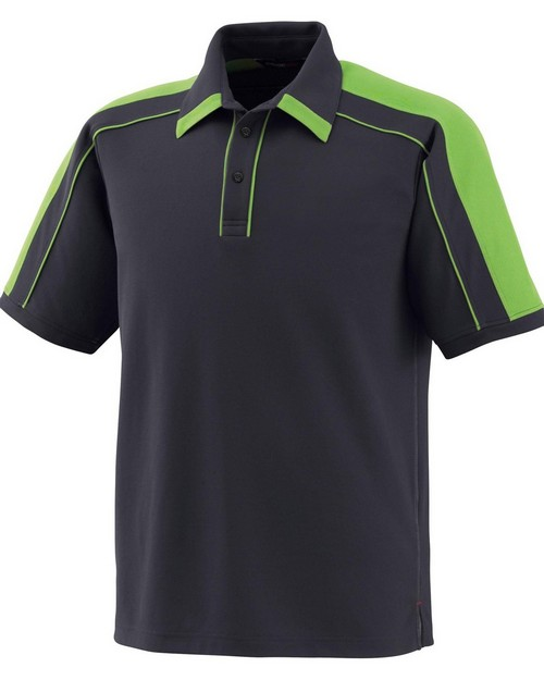 North End 88648 Men's Sonic Performance Polyester Pique Polo