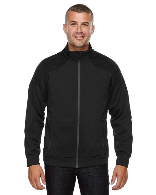 North End 88660 Men's Evoke Bonded Fleece Jacket