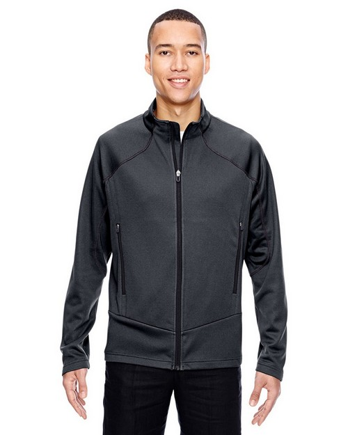 North End 88806 Men's Interactive Cadence Two-Tone Brush Back Jacket