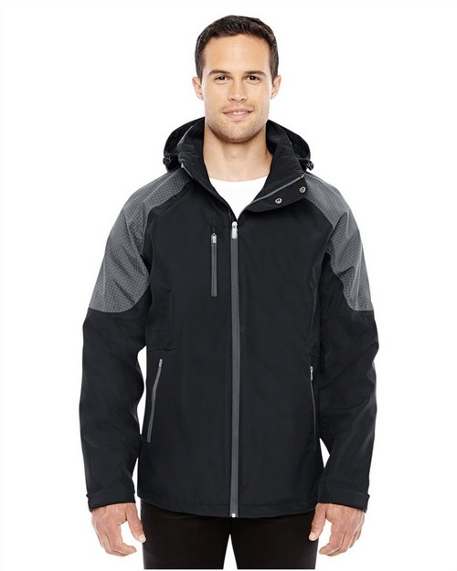 North End 88808 Men's Impulse Interactive Seam-Sealed Shell Jacket