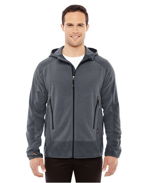 North End 88810 Men's Vortex Polartec Active Fleece Jacket