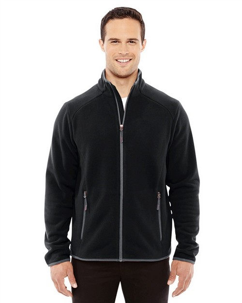 North End Sport Red 88811 Men's Vector Interactive Polartec Fleece Jacket
