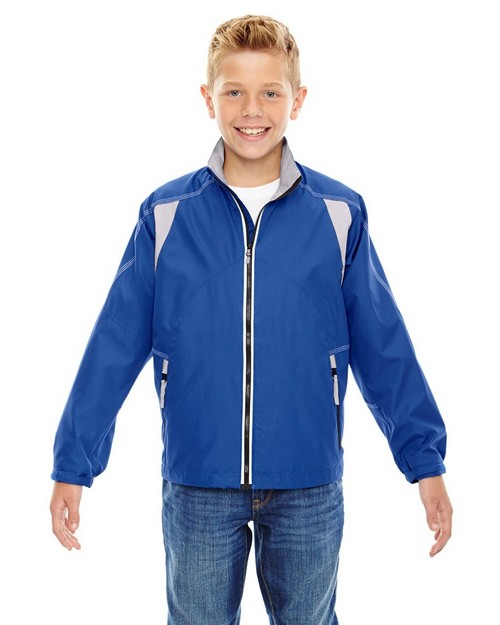 North End 68011 Youth Lightweight Color Block Jacket