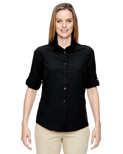 North End 77047 Ladies Excursion Concourse Performance Shirt