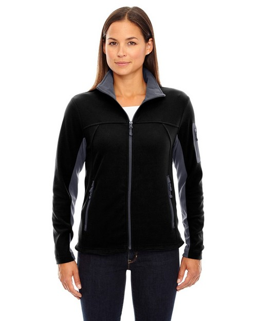 North End 78048 Ladies Full Zip Microfleece Jacket