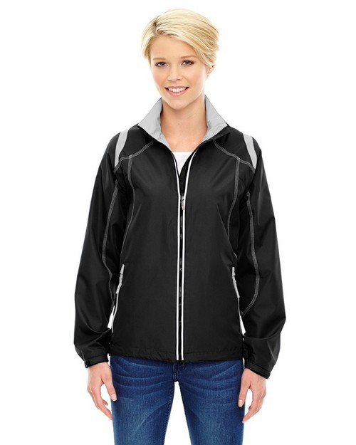 North End 78076 Ladies Lightweight Color Block Jacket