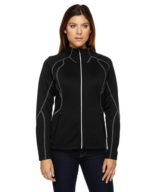 North End 78174 Gravity Ladies Performance Fleece Jacket