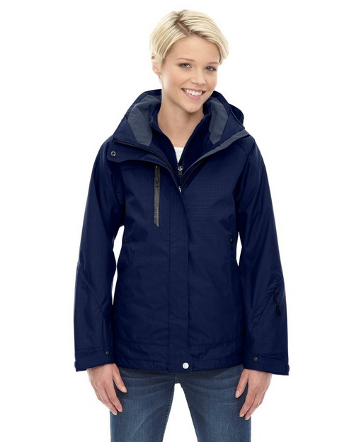 North End 78178 Caprice Ladies 3 In 1 Jacket With Soft Shell Liner