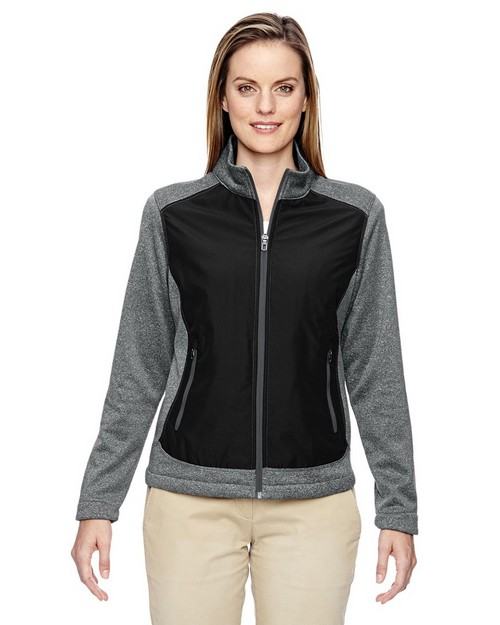 North End 78202 Victory Ladies Hybrid Performance Fleece Jacket