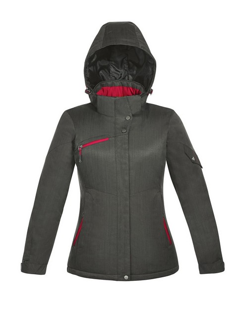 North End 78209 Rivet Ladies Textured Twill Insulated Jacket