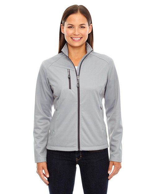 North End 78213 Trace Ladies Printed Fleece Jacket