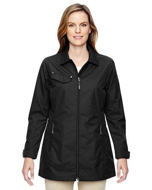 North End 78218 Ladies Excursion Ambassador Lightweight Jacket with Fold Down Collar
