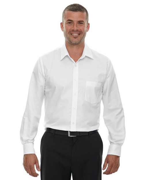 North End 87038T Windsor Mens Tall Long Sleeve Oxford Shirt