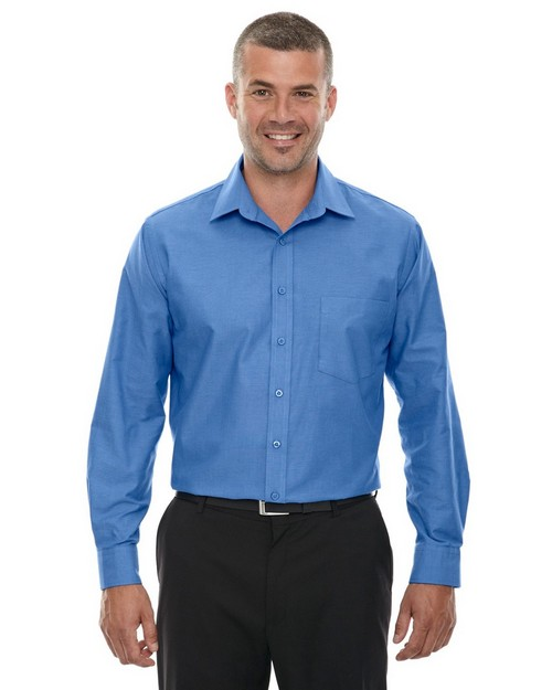 North End 87038 Windsor Mens Long Sleeve Oxford Shirt