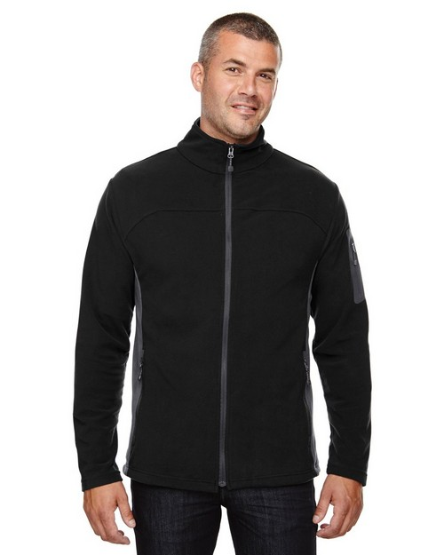 North End 88123 Mens Full-Zip Microfleece Jacket