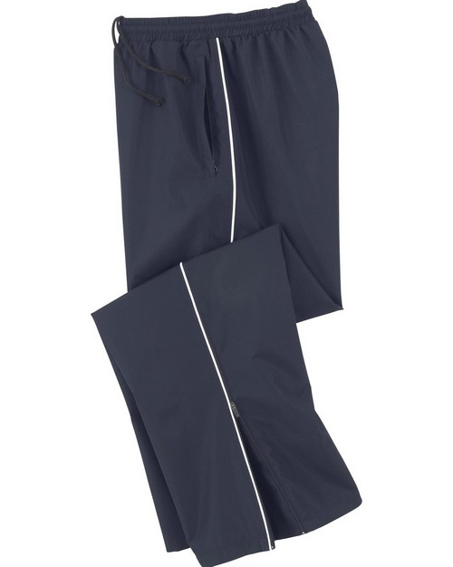 North End 88144 Mens Woven Twill Athletic Pants