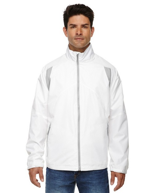 North End 88155 Mens Lightweight Color-Block Jacket
