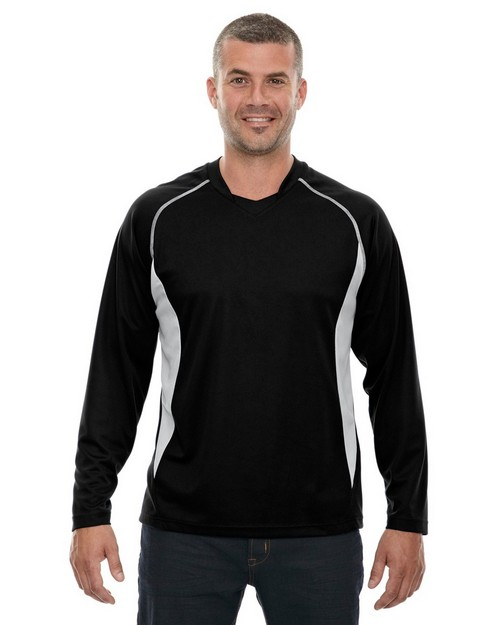 North End 88158 Mens Athletic Long Sleeve Sport Top