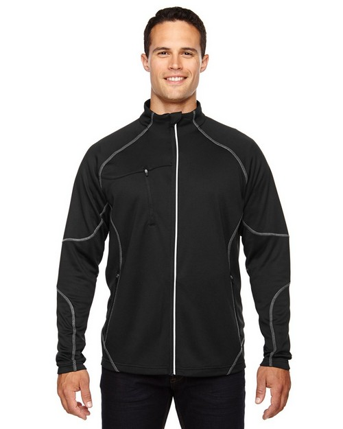 North End 88174 Gravity Mens Performance Fleece Jacket