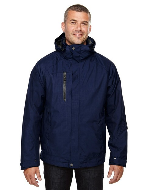 North End 88178 Caprice Mens 3-In-1 Jacket With Soft Shell Liner