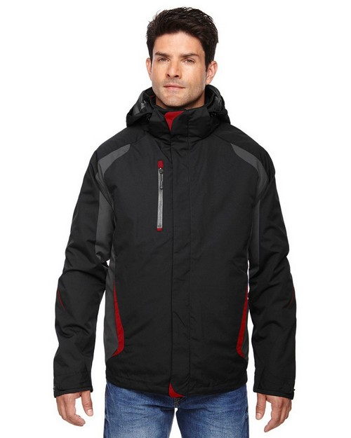 North End 88195 Height Mens 3-In-1 Jackets With Insulated Liner