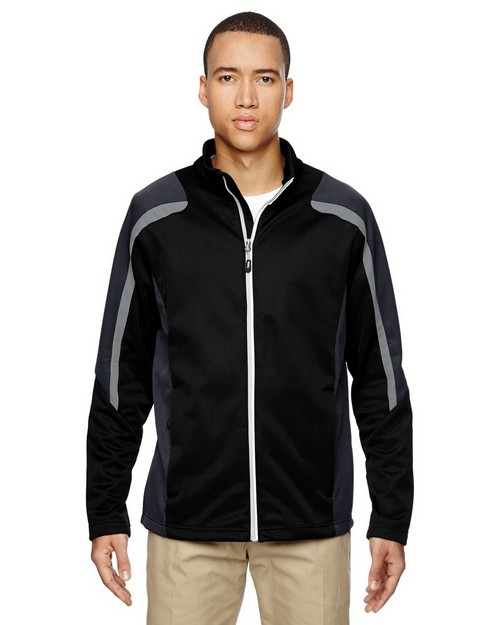 North End 88201 Strike Mens Colour-Block Fleece Jacket