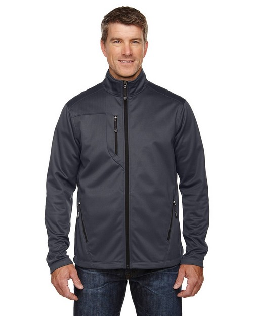 North End 88213 Trace Mens Printed Fleece Jacket