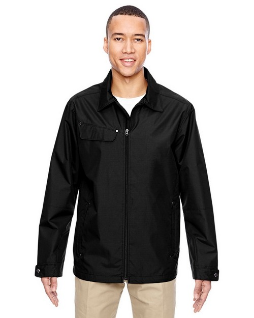 North End 88218 Mens Excursion Ambassador Lightweight Jacket with Fold Down Collar