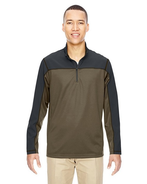 North End 88220 Mens Excursion Circuit Performance Half Zip Pullover