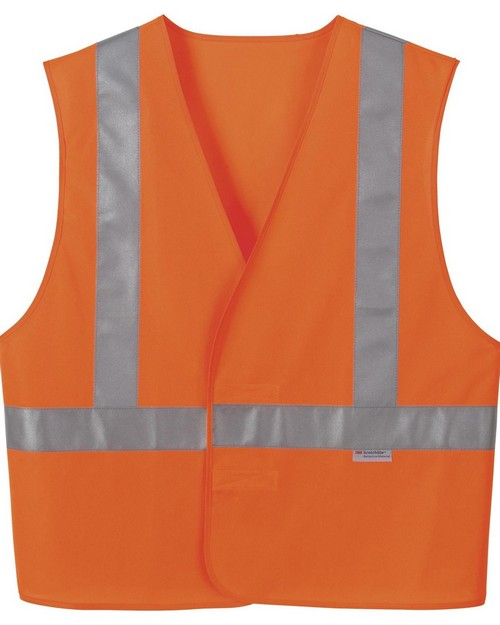 North End 88706 Vertical Stripe Safety Vest