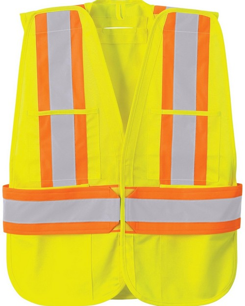 North End 88709 5-Point Tear Away Safety Vest