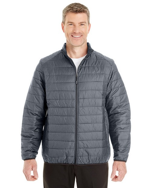 North End NE701 Mens Portable Interactive Printed Packable Puffer