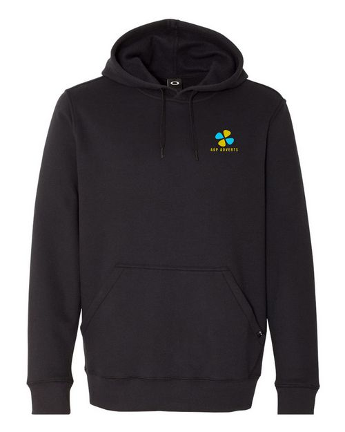 Logo Embroidered Oakley Cotton Logo Embroidered Blend Hooded Pullover Sweatshirt - For Men