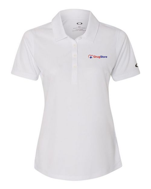 Oakley Performance Logo Embroidered Sport Shirt - For Women