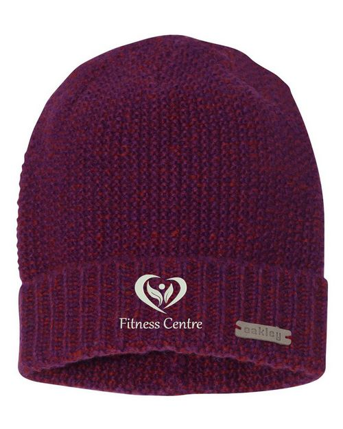 Oakley Logo Embroidered Lima Beanie - For Women