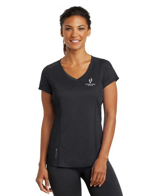 Ogio Endurance LOE320 Ladies Pulse V-Neck T-Shirt