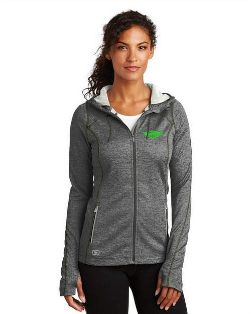 Ogio Endurance Custom Logo Embroidered Pursuit Full-Zip - For Women